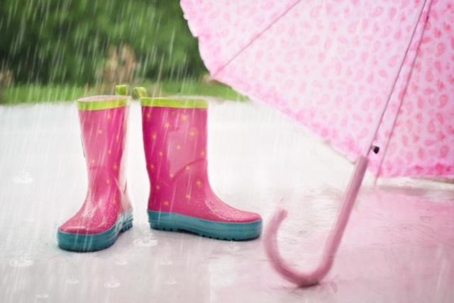 Het regent, nou en?
