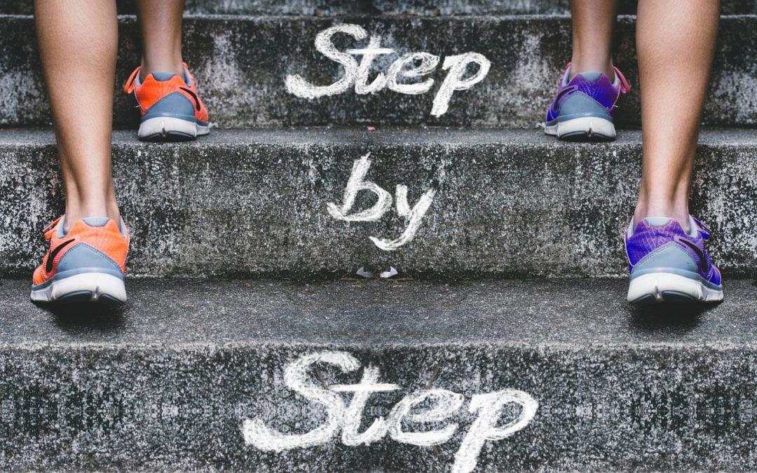 Kleine stapjes, grote gevolgen